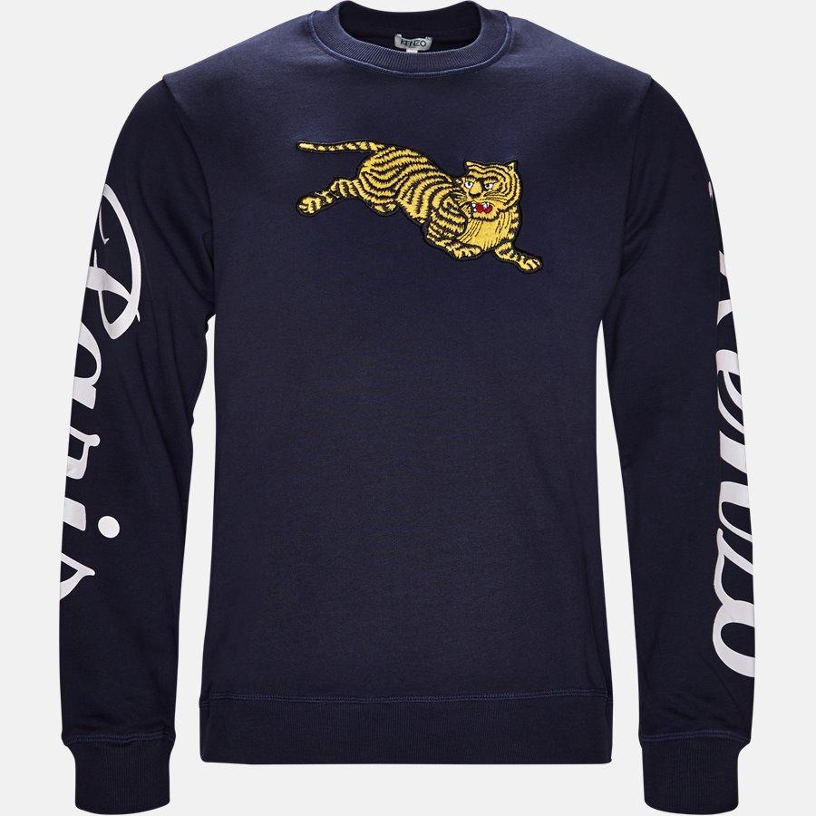 5SW090 4XL  - sweat - Sweatshirts - Regular slim fit - NAVY - 1
