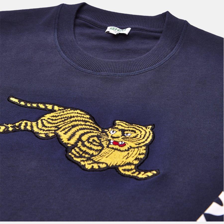 5SW090 4XL  - sweat - Sweatshirts - Regular slim fit - NAVY - 3
