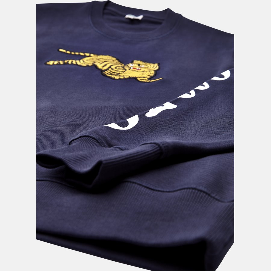 5SW090 4XL  - sweat - Sweatshirts - Regular slim fit - NAVY - 4