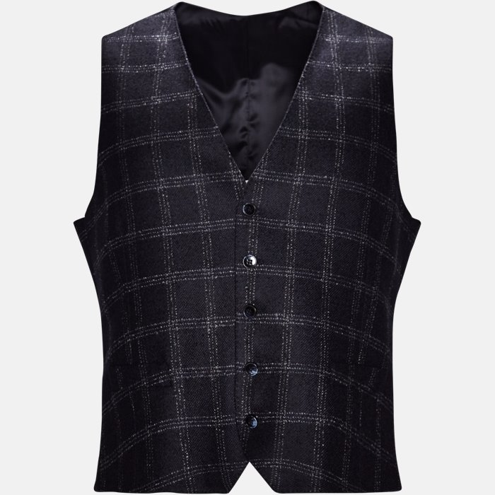 Vests - Slim - Blue