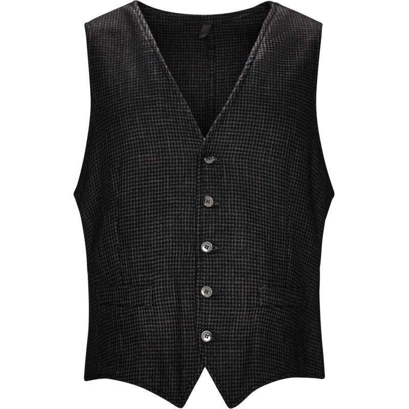 L.b.m 1911 vest grey/black fra l.b.m 1911 fra axel.dk