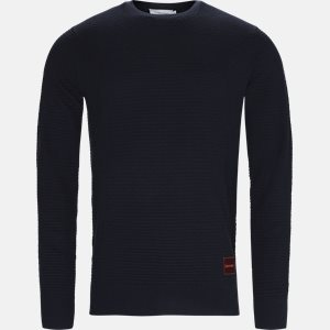 strik Regular fit | strik | Blå