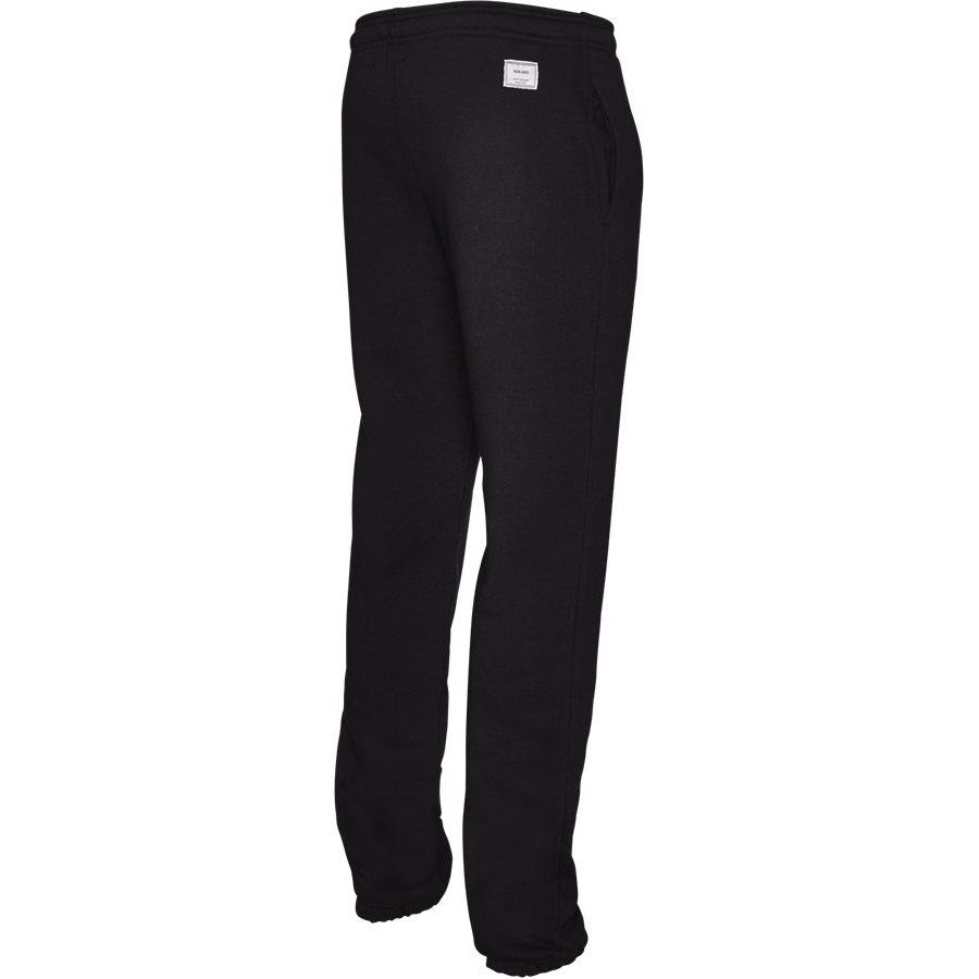 OCEAN - Ocean Sweatpants - Bukser - Regular - BLACK - 3
