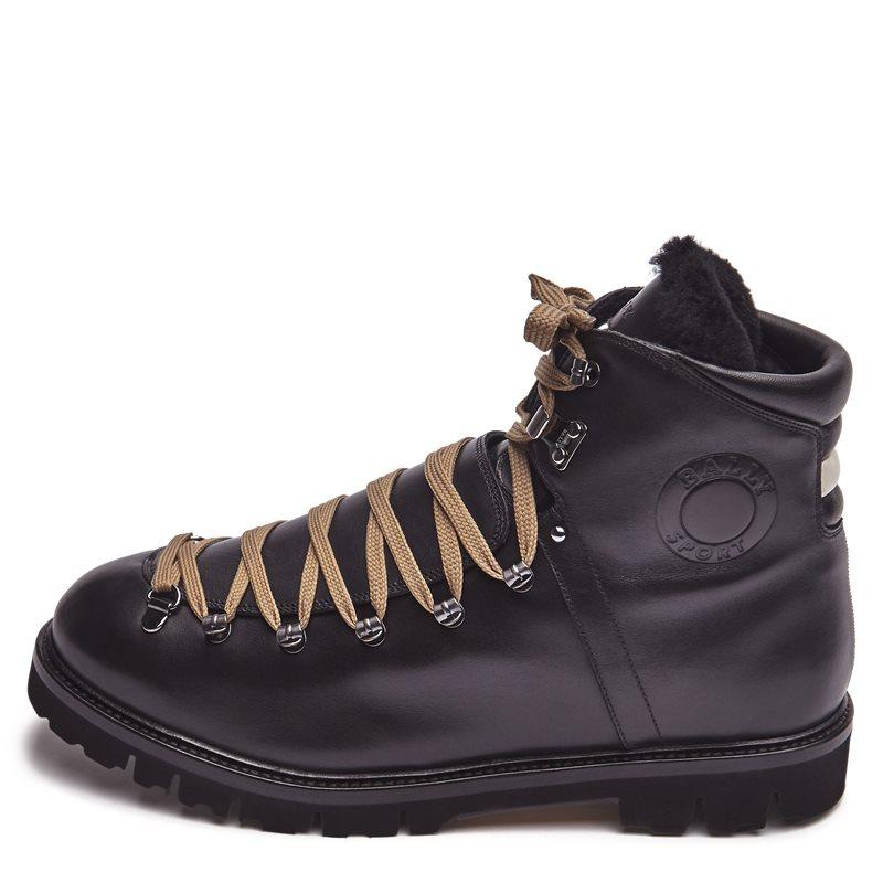 bally – Bally chack-fur sko black på axel.dk