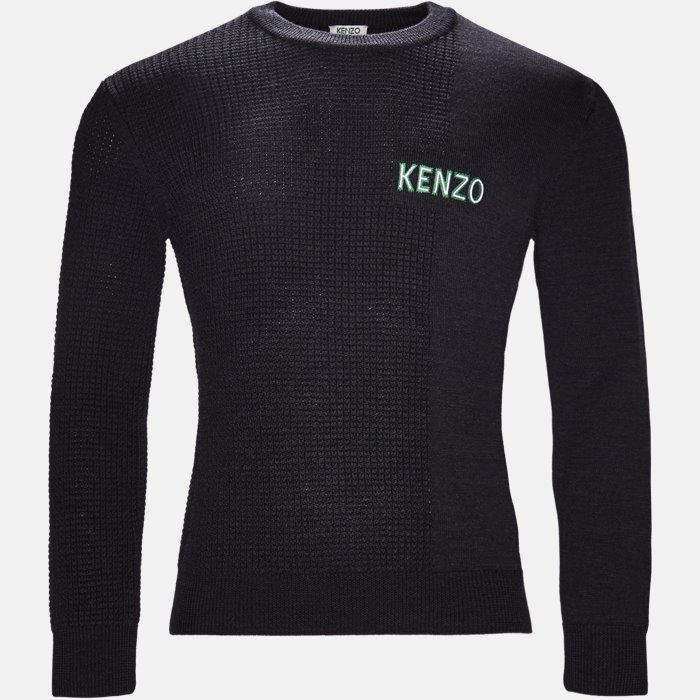 Knitwear - Regular slim fit - Grey