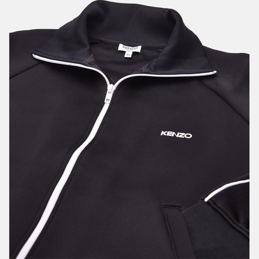 5BL7514CA - sweat - Sweatshirts - Regular slim fit - SORT - 3