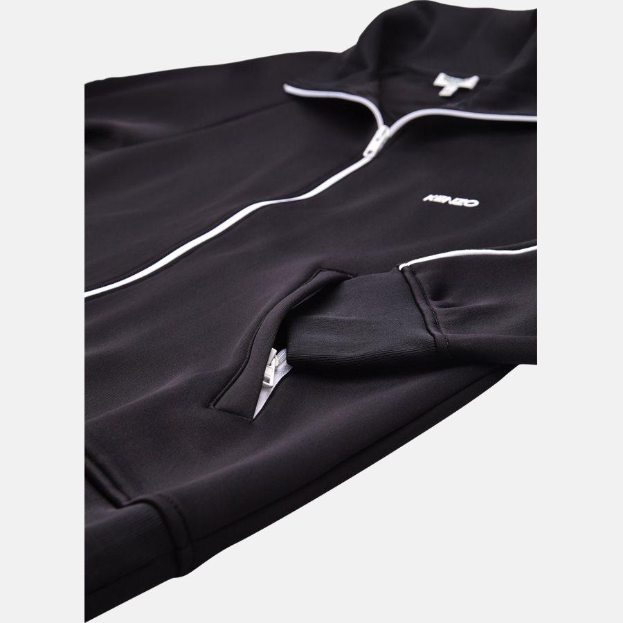 5BL7514CA - sweat - Sweatshirts - Regular slim fit - SORT - 4