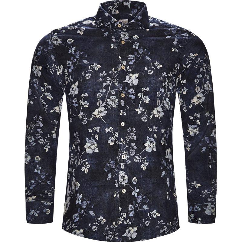 xacus Xacus skjorte navy på axel.dk