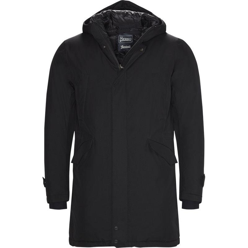 herno Herno jakke black på axel.dk