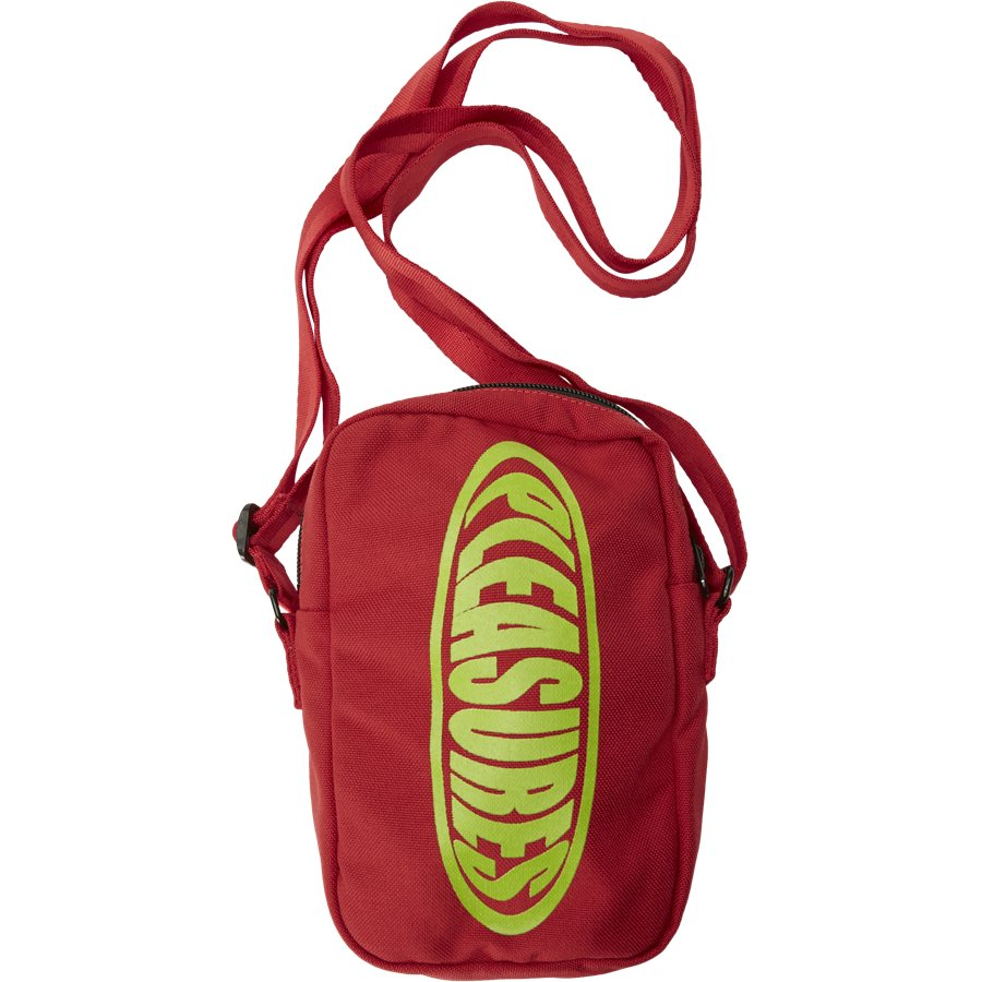 BUBBLE LOGO SIDE BAG - Bubble Logo Side Bag - Tasker - RØD - 1