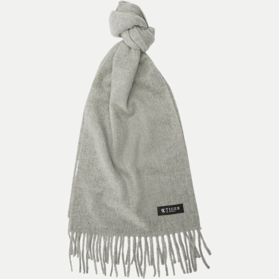 U51352 SULLAN - Sullan Wool Cashmere Scarf - Tørklæder - GRÅ - 1