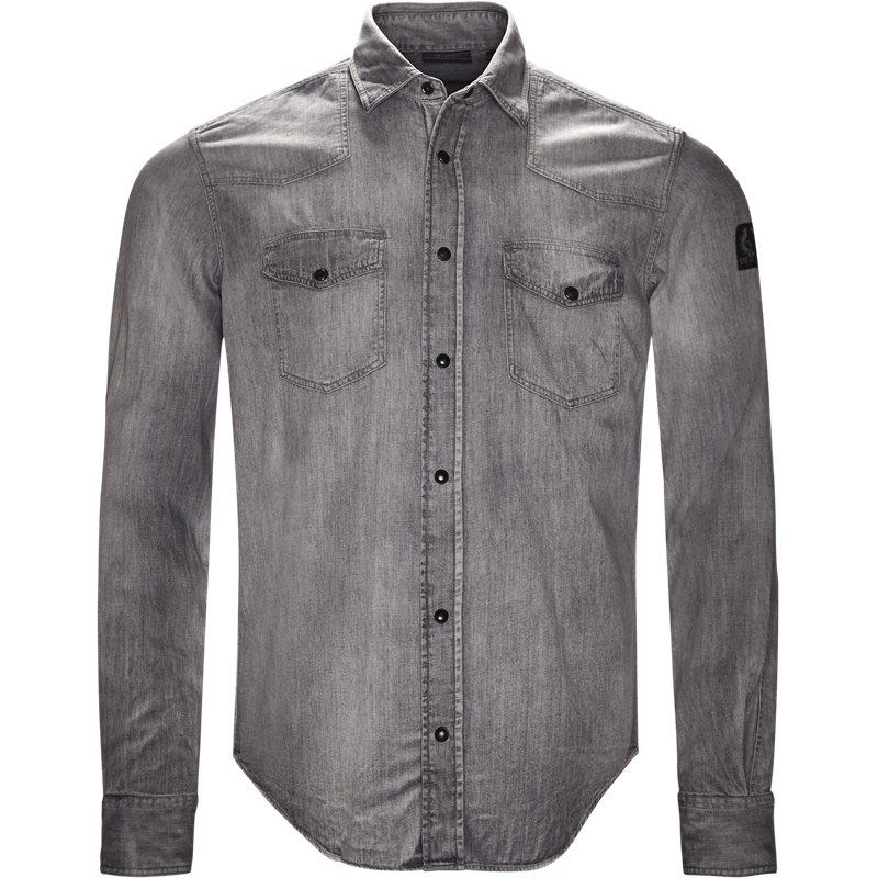 belstaff Belstaff skjorte grey fra axel.dk