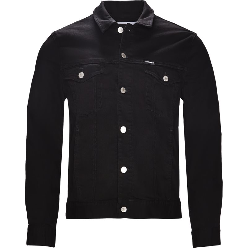 calvin klein jeans Calvin klein jeans jakke black på axel.dk