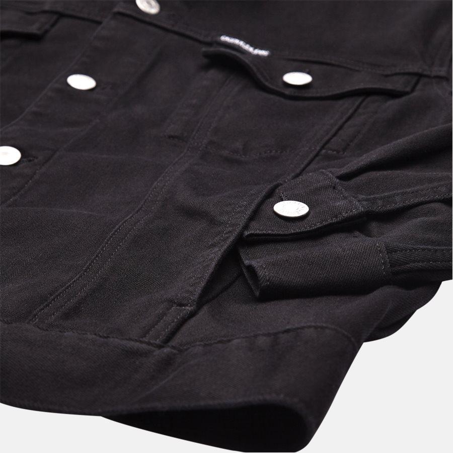 J30J308026 CLASSIC TRUCKER - jakke  - Jakker - Regular fit - BLACK - 4