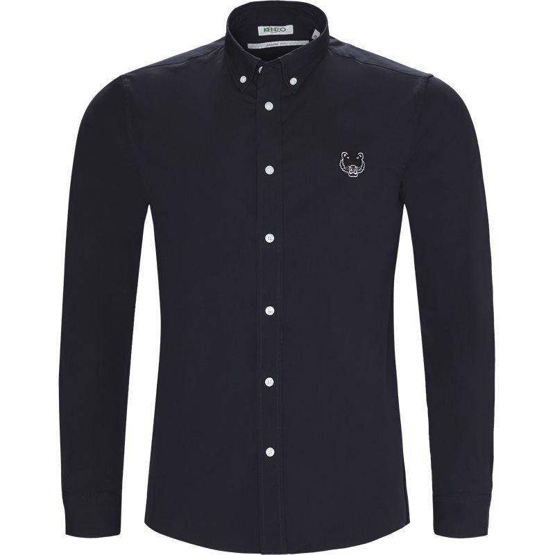 Kenzo skjorte navy fra kenzo på axel.dk