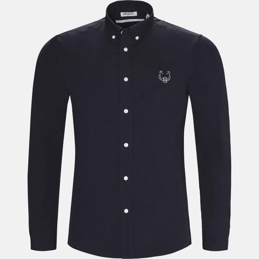 1LB 5CH400 - skjorte - Skjorter - Casual fit - NAVY - 1