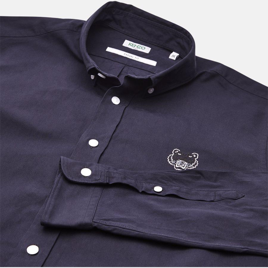 1LB 5CH400 - skjorte - Skjorter - Casual fit - NAVY - 3