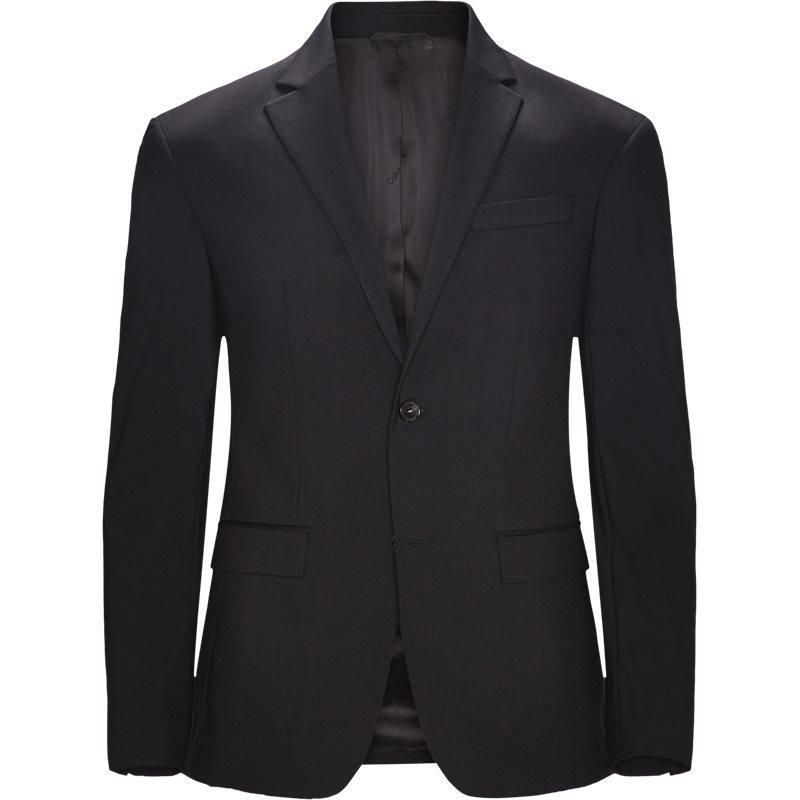 Image of   Calvin Klein K10K103083 STRETCH WOOL Blazer Black