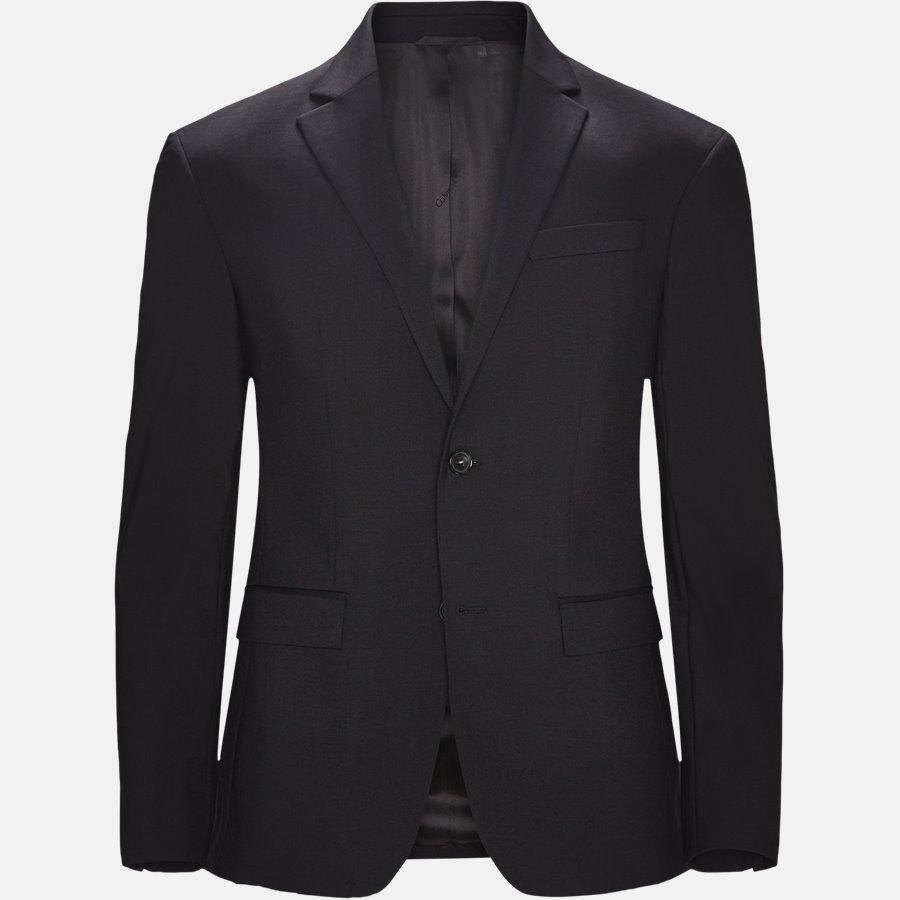 K10K103083 STRETCH WOOL - Blazer - BLACK - 1