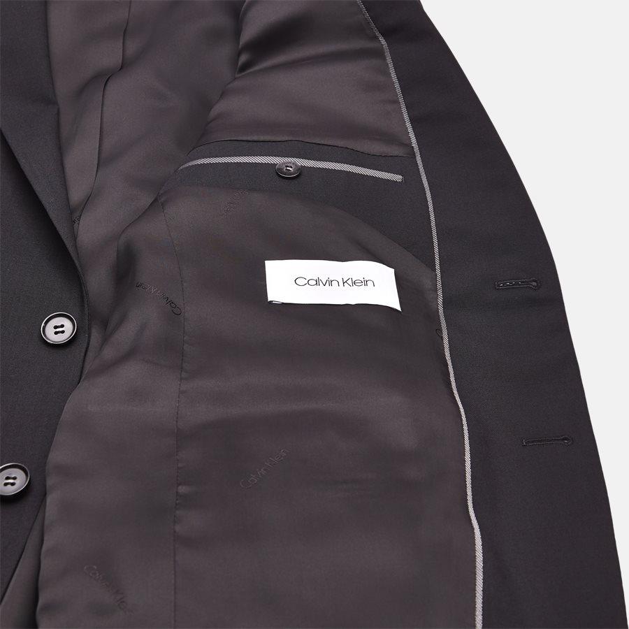 K10K103083 STRETCH WOOL - Blazer - BLACK - 5