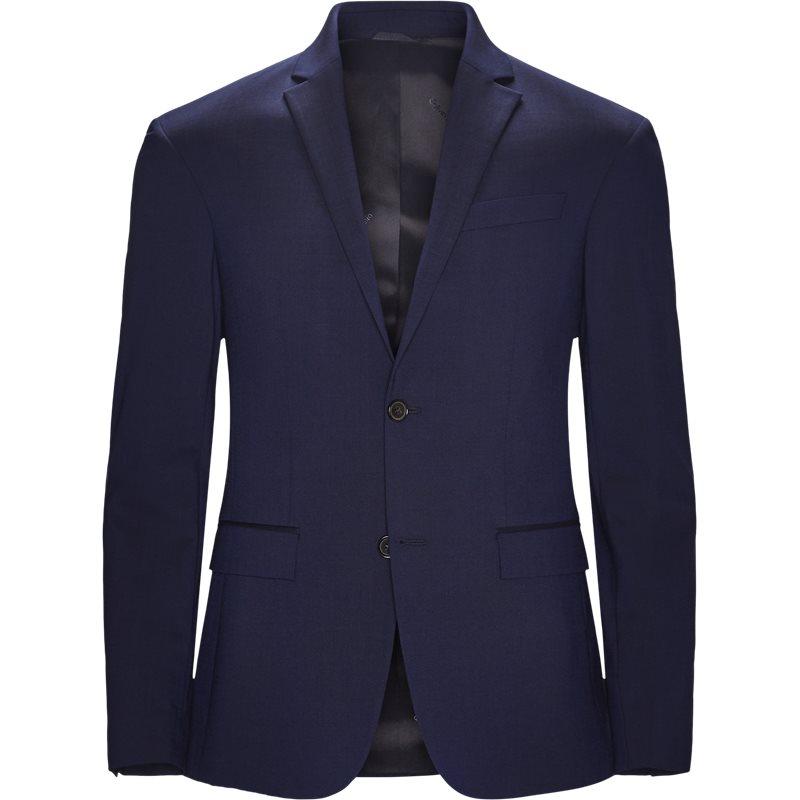Image of   Calvin Klein K10K103083 STRETCH WOOL Blazer Blue