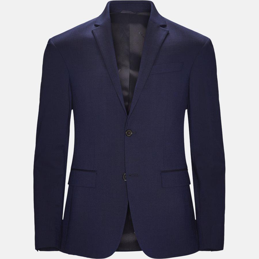 K10K103083 STRETCH WOOL - Blazer - BLUE - 1