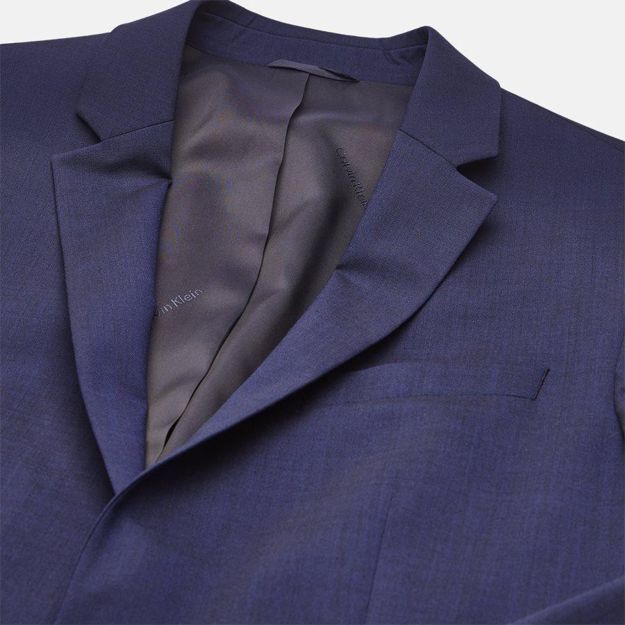 K10K103083 STRETCH WOOL - Blazer - BLUE - 3