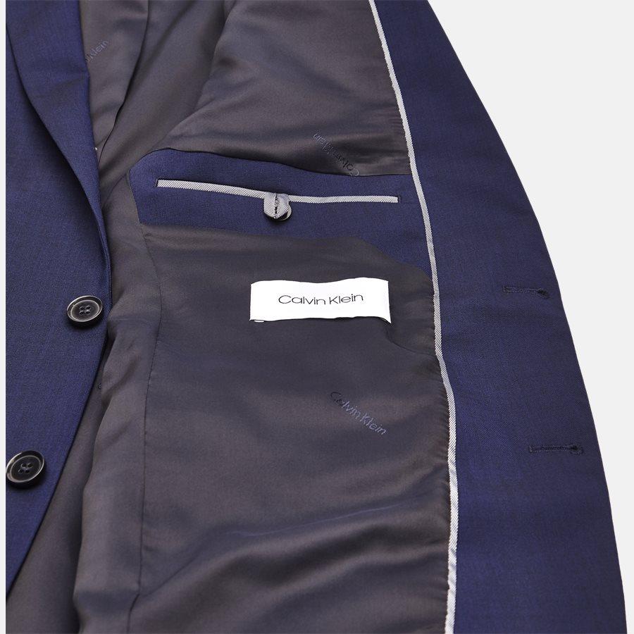 K10K103083 STRETCH WOOL - Blazer - BLUE - 5