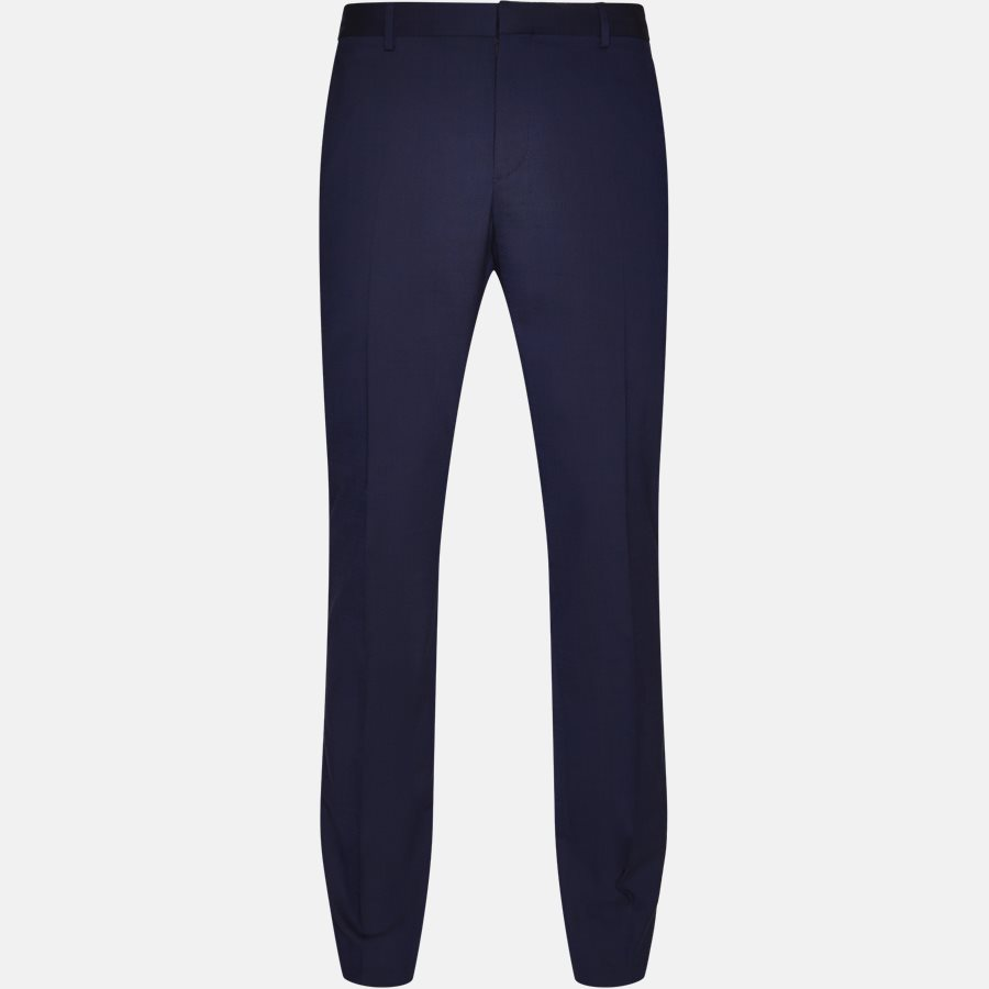 K10K103084 STRETCH WOOL - Trousers - BLUE - 1
