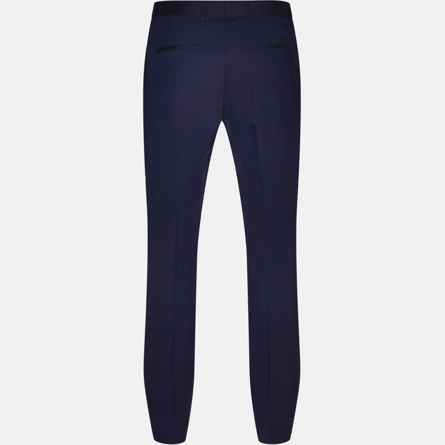K10K103084 STRETCH WOOL - Trousers - BLUE - 2