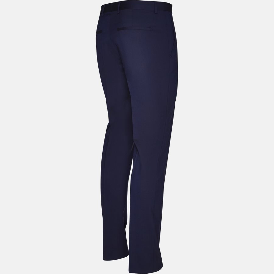 K10K103084 STRETCH WOOL - Trousers - BLUE - 3