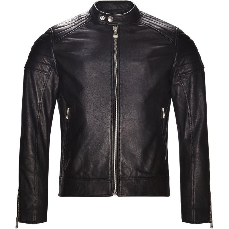 belstaff – Belstaff jakke black på axel.dk