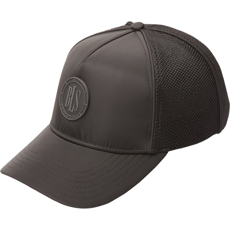 bls – Bls trucker cap huer black på axel.dk