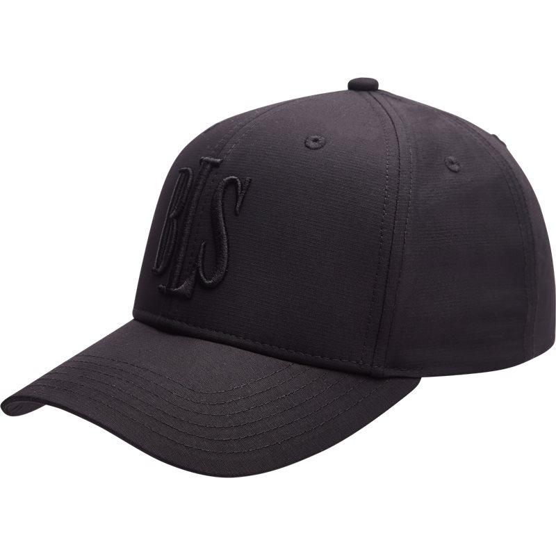 Bls high profile tonal cap huer black fra bls på axel.dk