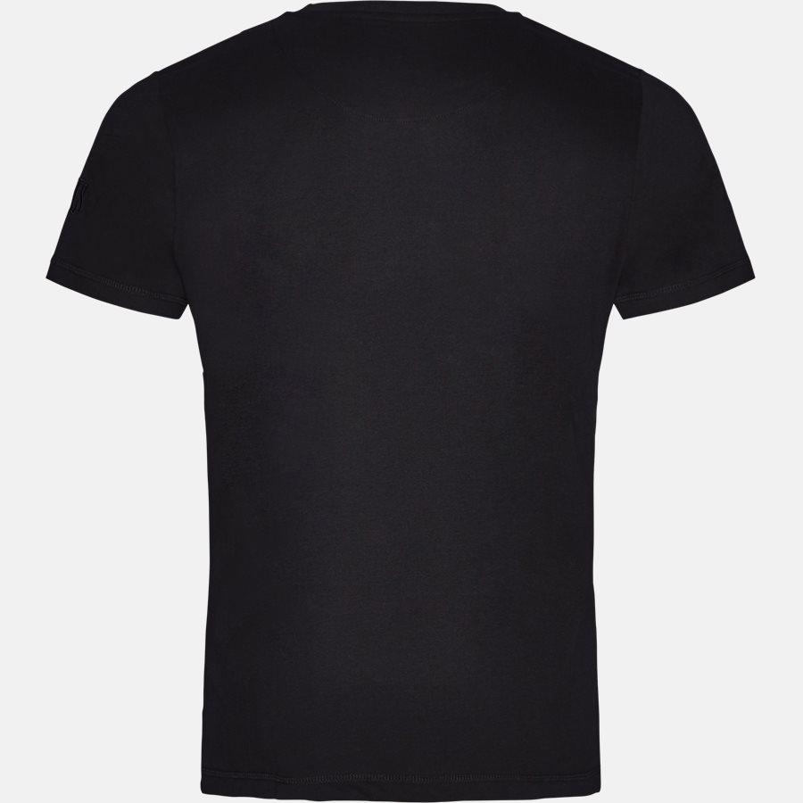 HAFNIA CENTER LOGO - T-shirt - T-shirts - Regular fit - BLACK - 2