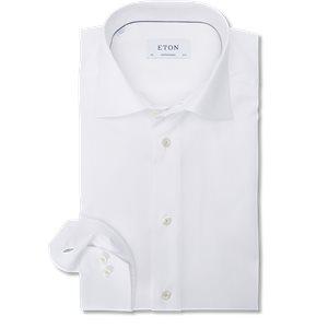 Signature Twill Skjorte Signature Twill Skjorte   Hvid