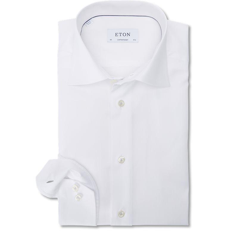Eton - signature twill skjorte fra eton fra kaufmann.dk
