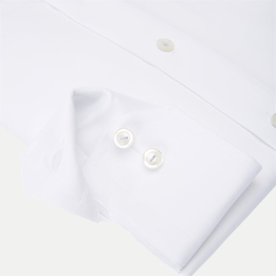 3153. - 3153 Signature Twill Skjorte - Skjorter - HVID - 4