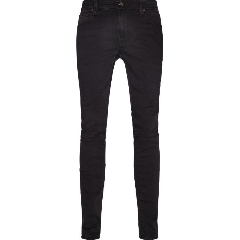 Sartoria tramarossa slim leonardo slim 24,7 d317 jeans black fra sartoria tramarossa på axel.dk