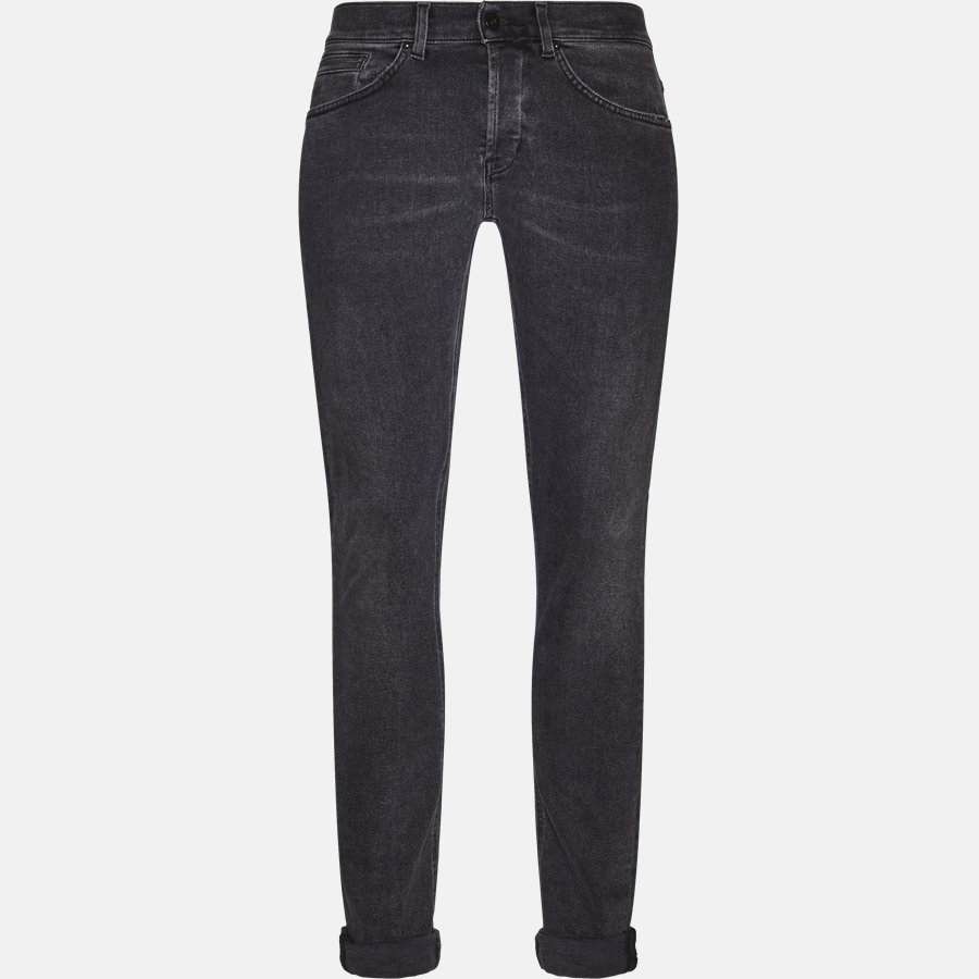 UP232 DS0198U T72N - Jeans - Jeans - Skinny fit - BLACK - 1