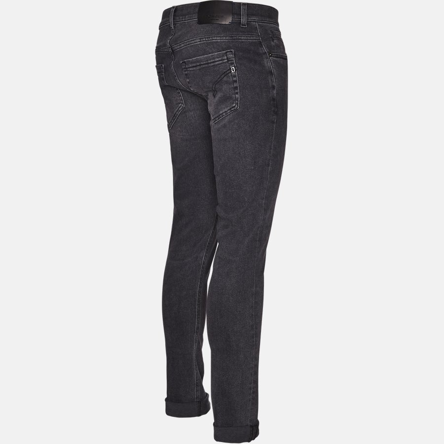 UP232 DS0198U T72N - Jeans - Jeans - Skinny fit - BLACK - 3