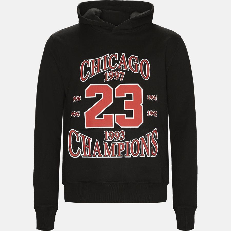 NUW18288 - Sweatshirts - Oversized - BLACK - 1
