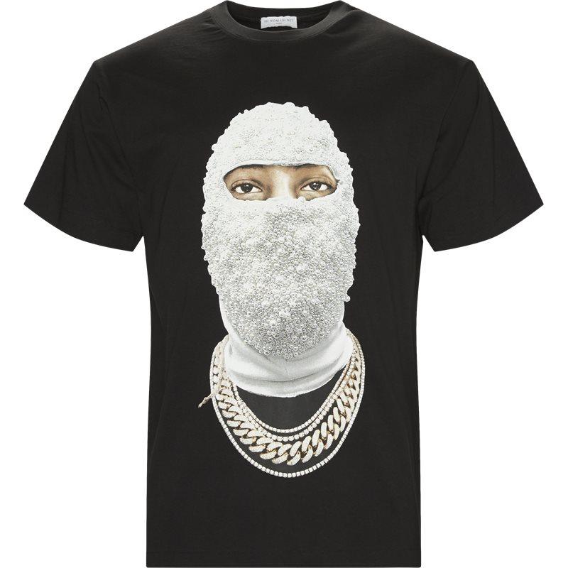 Ih nom uh nit t-shirt black fra ih nom uh nit på axel.dk