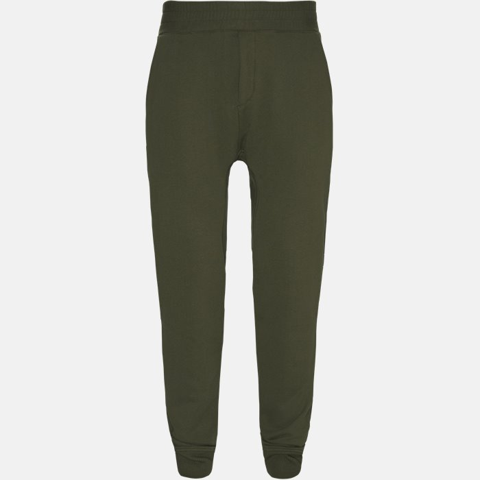 Trousers - Oversized - Green