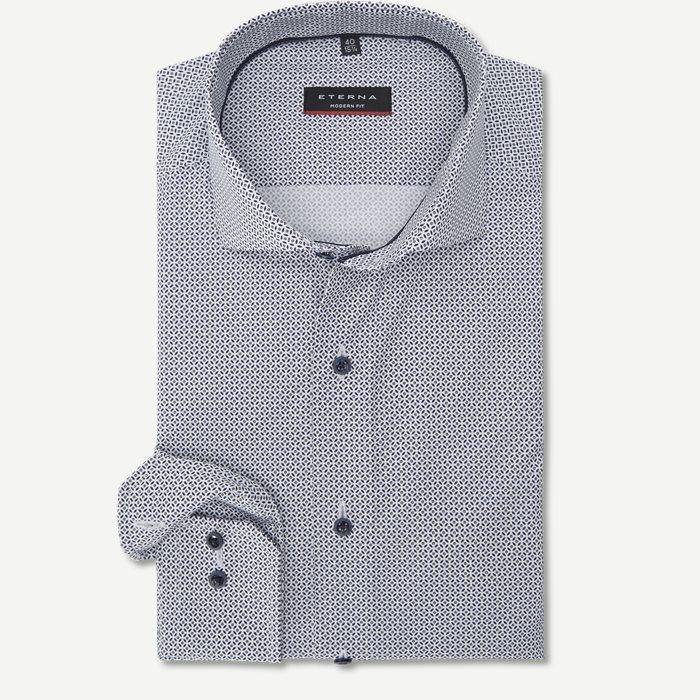 3759 Skjorte - Skjorter - Modern fit - Hvid
