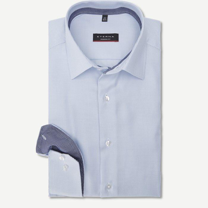 3116 Skjorte - Skjorter - Modern fit - Blå