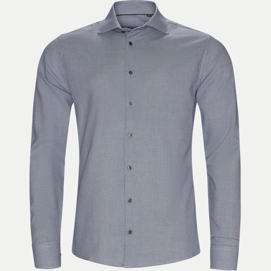 108 NEW BIZ - New Biz Skjorte - Skjorter - Slim - NAVY - 1