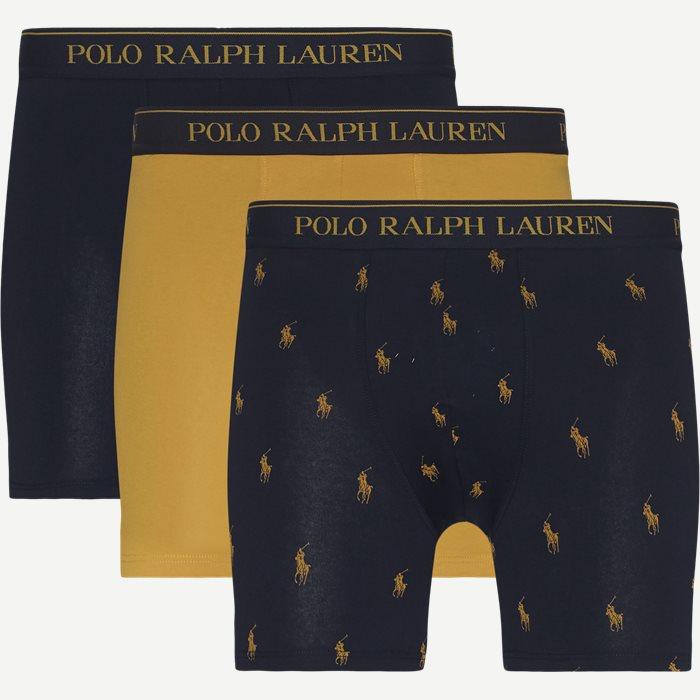 3-Pack Tights - Undertøj - Regular - Blå