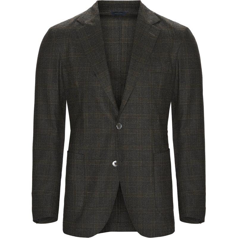 Tombolini jakke brun/grå fra tombolini på axel.dk
