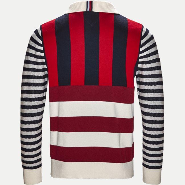 Stripe Knitted Relax Strik